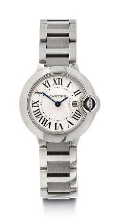 """Cartier """"Ballon Bleu"""" Lady's Wristwatch, ca. 2010."""