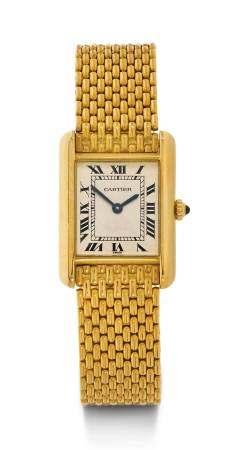 Cartier Tank Lady's Wristwatch.