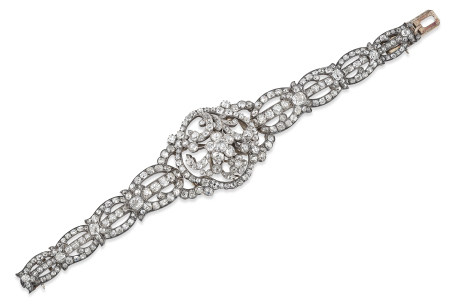 LATE 19TH CENTURY DIAMOND BRACELET