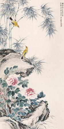 郑师玄花鸟