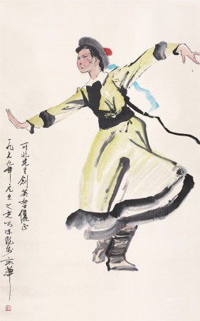 杨之光舞女