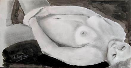傑羅姆•迪費(AD1973-)鉛筆、水墨、紙本-21世紀