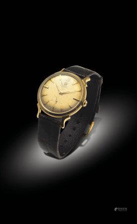 OMEGA 14K金自動小三針腕表