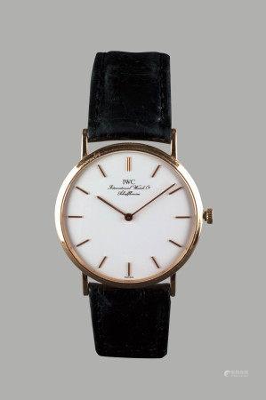90年代  IWC · 18K金上鍊腕錶