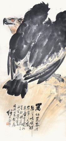 劉繼卣  鷹