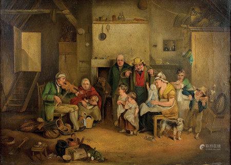 十九世紀‧佚名  闔家歡