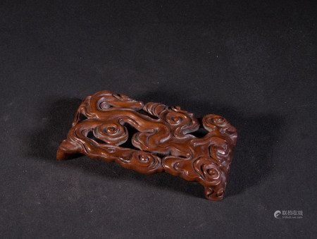HUANGYANG WOOD CARVED INK BED