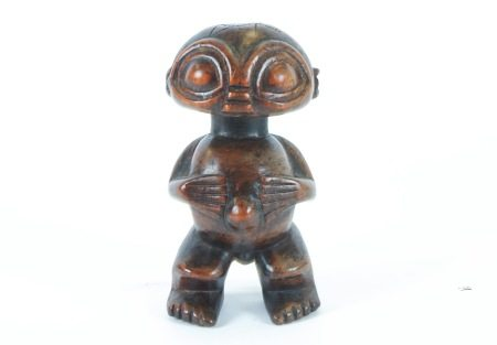A standing Pygmy figure, Cameroon, height 19.5 cm