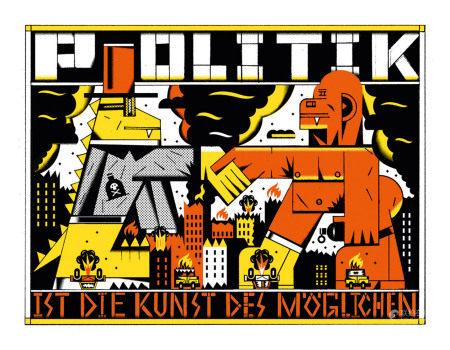 Anton Mariinsky (born in 1984). ALLES OK. Ten silkscreen prints by Anton Mariinsky, Berlin 2017