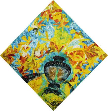 Rais Khalilov (born in 1961). The flower vase
