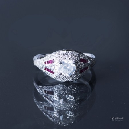 A DIAMOND RING, EGL USA CERTIFIED