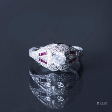 A DIAMOND RING, EGL USA CERTIFIED