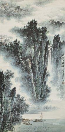 WU JINGSHAN (1943-), LANDSCAPE