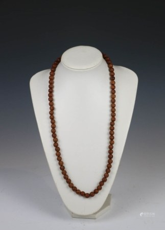 CHENGXIANG WOOD BEAD NECKLACE