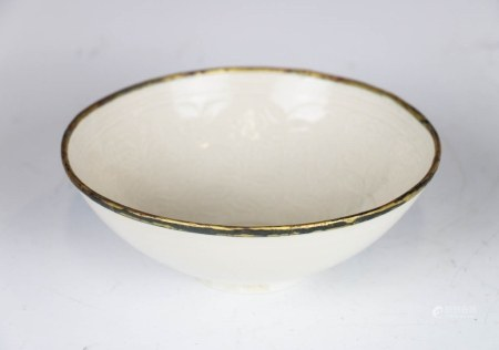 DINGYAO INCISED BOWL