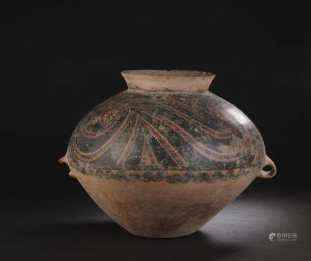 Jarre néolithique en terre cuiteChine, culture Yangshao, 2500