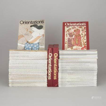 A Group of One Hundred and Twenty-Three Issues of 'Orientations' Magazine, (1974-1990), 1974-1990年《美