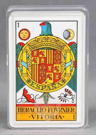 Baraja española de naipes. Heraclio Fournier, Vitoria. -
