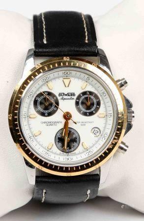 Reloj de pulsera multifunciones, de la marca DUWARD, AQUASTAR.  Cronógrafo. En [...]