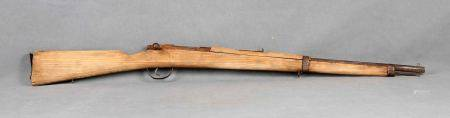 Réplica de fusil Mauser corto para instrucción de juventudes de Falange. En madera [...]