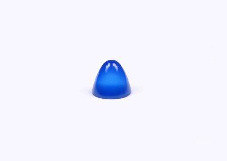 Ágata azul. -
