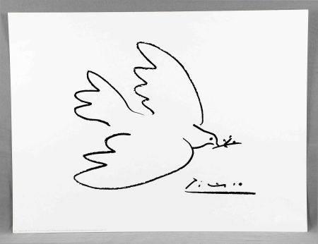 "PICASSO, PABLO. ""Dove of peace"". Impresión. Ed. Shorewood Fine Art, 1999. Med.: [...]"