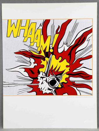 "LICHTENSTEIN, ROY. ""Whaam!"". Serigrafía. Ed. Tate Publishing Society. Med.: 60x80 [...]"