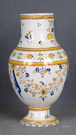 RUIZ DE LUNA. Jarrón, circa 1910-1920. En cerámica española de TALAVERA, primera [...]