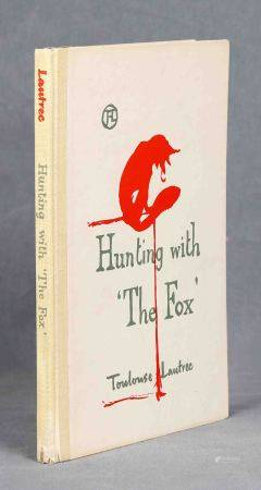 "TOULOUSE-LAUTREC, HENRI. ""Hunting with 'The Fox"".  Texto de Jules Renard, [...]"