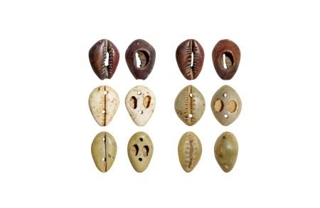 商•各色玉贝币一组六枚