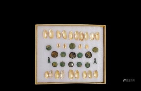 商-战国•贝币、铜币一组三十八枚