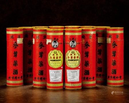 1989年日本回流同仁堂李时珍牌参茸药酒