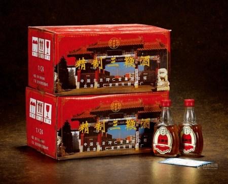 2000年北京同仁堂三鞭酒(两原箱)