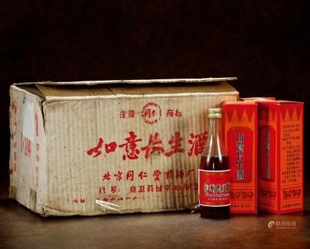 1987年北京同仁堂如意长生酒(原箱)