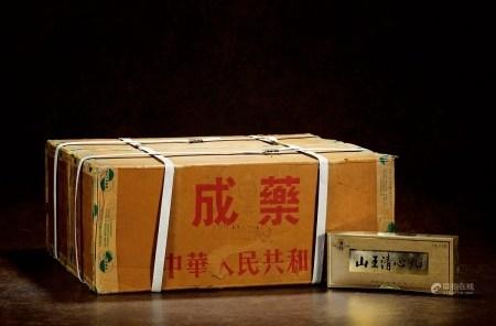 1991年北京同仁堂李时珍牌山王清心丸(原箱)