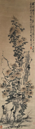 近代 李方膺  花卉