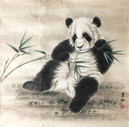 近代 王生勈  熊猫