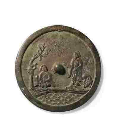 11-12 世纪 许尤巢父镜