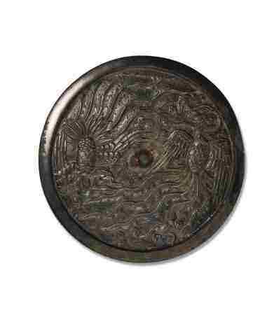 9 世纪 大双凤铜镜