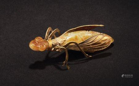 玉包金螳螂