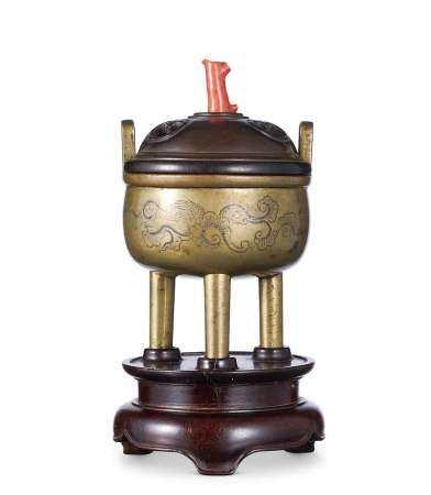 清早期 鼎式炉
