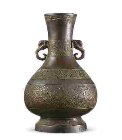 12世纪 象耳赏瓶