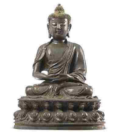 15世纪 阿弥陀佛 带佛龛
