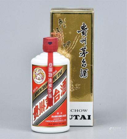 2011年  贵州飞天茅台53°白酒(赠送礼品)