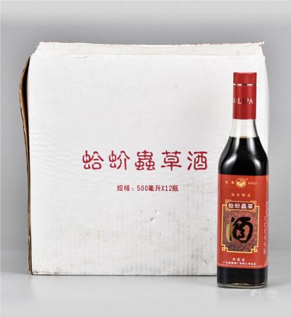 蛤蚧虫草酒