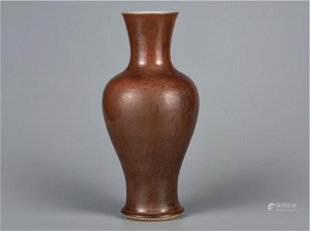 紫金釉观音瓶