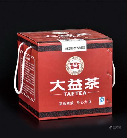 红大益班章野生古树熟茶