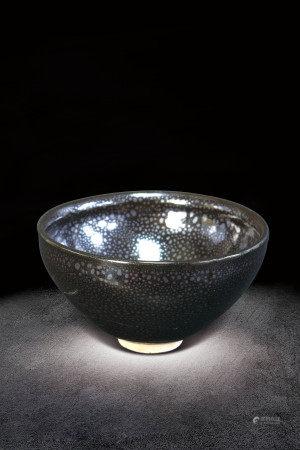 元  黑滴釉碗