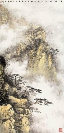 李寧  黃山煙雨