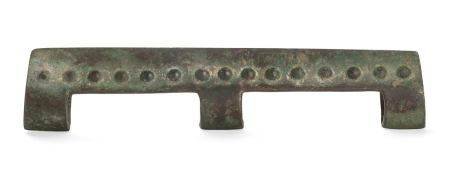 A BRONZE BLADE, DAOChina, late Shang – early